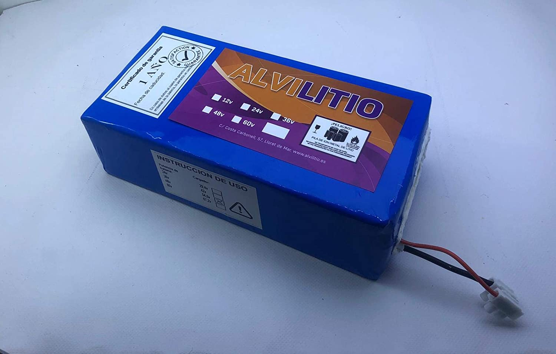 ALVILITIO Bateria de Litio Recargable 36V 9AH/12AH/15AH/18AH ...