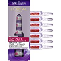 L 'Oréal Paris Revitalift Filler hyaluronzuur ampullen sterk gedoseerd, anti-aging filler-shots met puur hyaluronzuur…