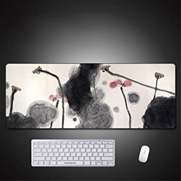 LL-COEUR Grand Alfombrilla de Ratón Ordenador Portátil Mouse Mat Antideslizante Loto Mousepad 800x300x3mm (Color 4): Amazon.es: Electrónica