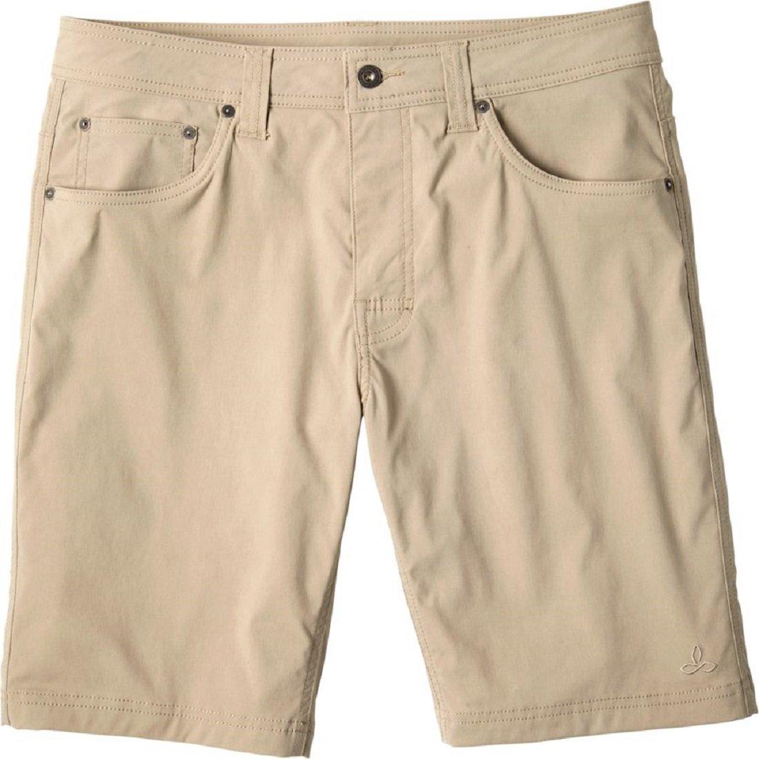 Prana Men's Brion Shorts (Dark Khaki, Size 40)