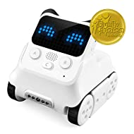 Makeblock Codey Rocky Programmable Robot Ages 6+, Fun Toys Gift to Learn AI, Python, Remote Control, Available for Windows, Mac OS, Chromebook, iOS, and Android, STEM Education.