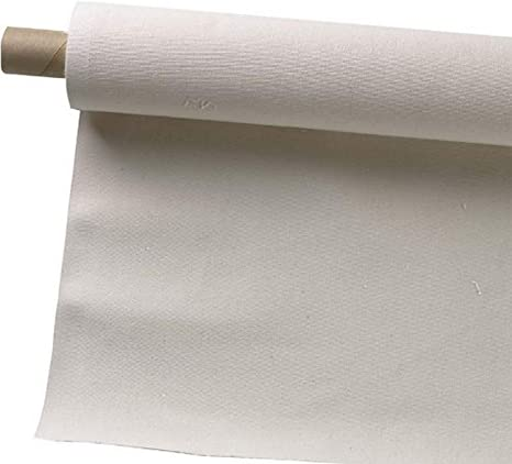 """Unprimed Cotton Canvas Roll  20 yds x 63/"""" 7oz"""