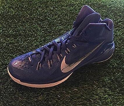 Dirk Nowitzki Signed Nike Lunarlon Signed Basketball Shoe JSA Authentic/Coa  P19926 - Basketball Memorabilia