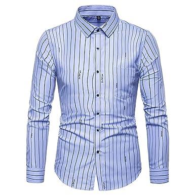 varios colores muy agradable moda mejor valorada Camisa Formal Rayas para Hombre,Camisa de Hombres Corte ...