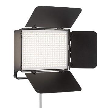 CLAR Professional High Lux Studio Video Light - 3000-5600K - Bi Color - Dimmable