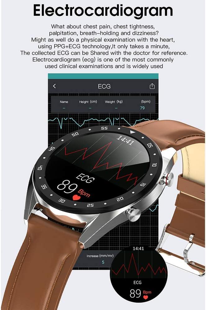 Smartwatches L7 Btcall Reloj Deportivo ECG + PPG Hrv Informe ...