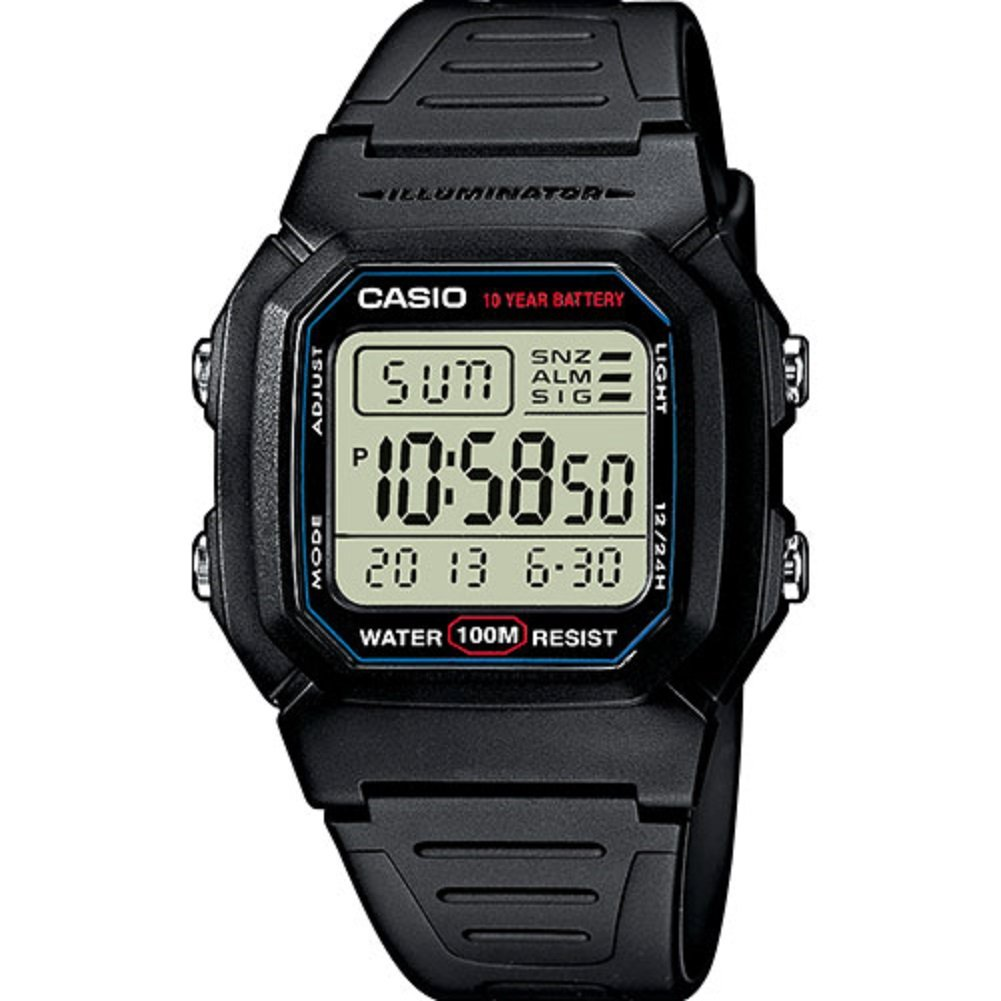 Casio Collection  W-800H-1AVES, Reloj Digital Unisex, Negro product image