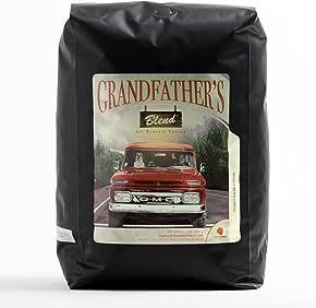 Coffee Bean Direct Grandfather's Blend, Whole Bean, 5 Pound