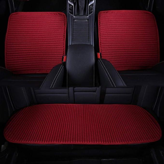 Amazon.com: VWBQ Car seat Cover - Breathable car Interior Set 3 ...