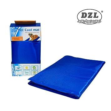 DZL Manta refrescante para perro 90*50CM,Manta enfriador para mascotas. Reduce la