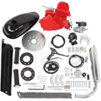 """80cc Bicycle Engine Kit 2-Stroke Gas Motorized Bike Motor Kit 26"""" 28"""" Bicycle Motor Engine Kit Upgrade"""