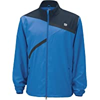 Wilson Men's Rush Woven Jacket Tennis Gym Training Tracksuit Top Warm Winter SPO