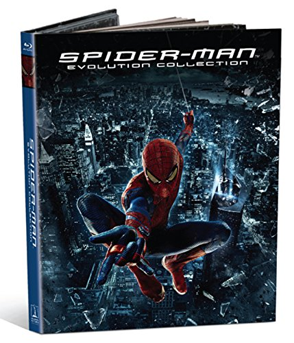 The Amazing Spider Man Evolution Collection 5 Blu Ray 4k Uhd