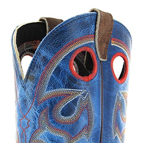 Stivali Fb Western Fashion Eee Boots Noce Uomo weite Blue ggUEHx