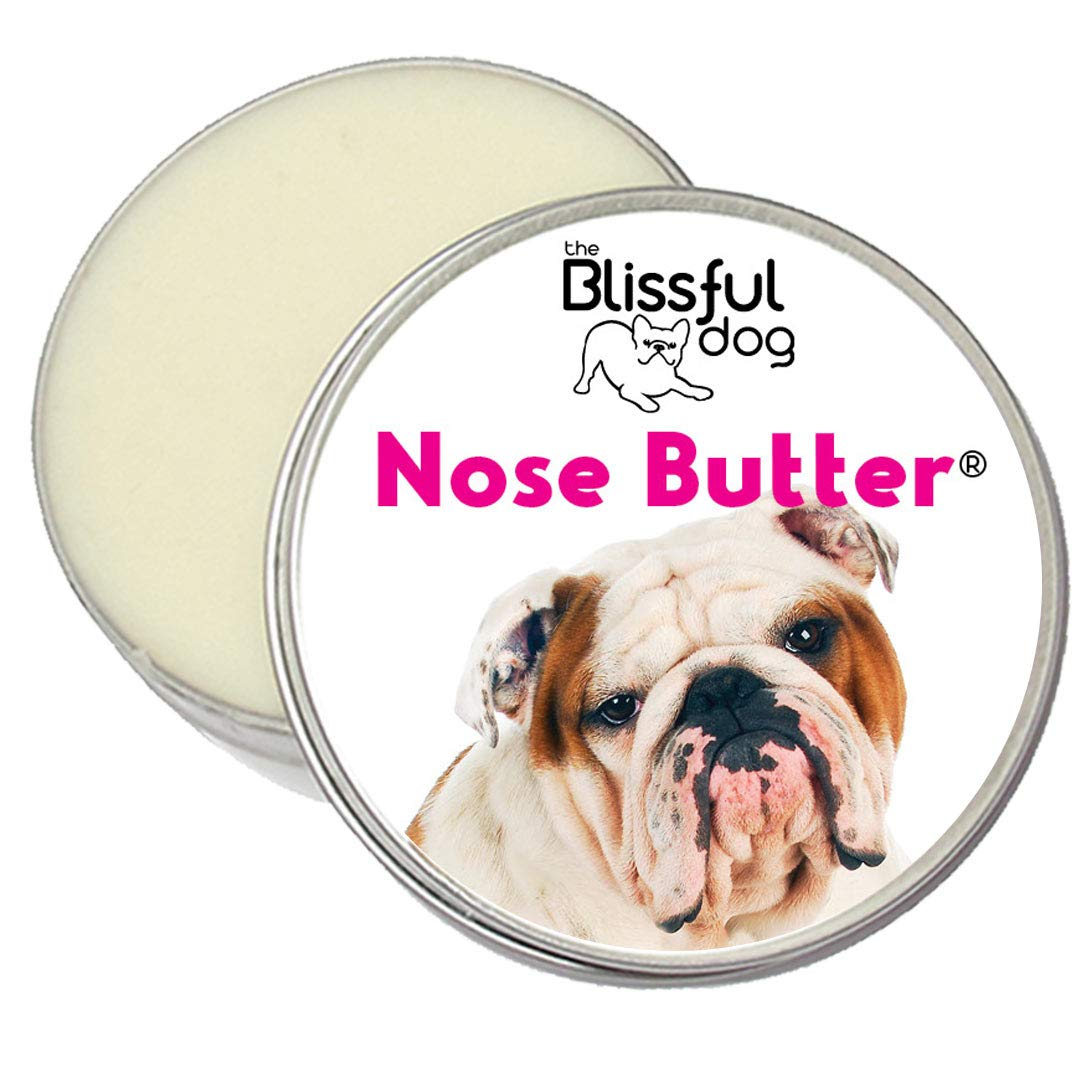 The Blissful Dog Bulldog Unscented Nose Butter - Dog Nose Butter, 1 Ounce by The Blissful Dog