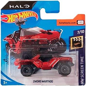 HALO Mehrfarbig HOT WHEELS FLD12 Metallmodell Jeep Urban Warthog