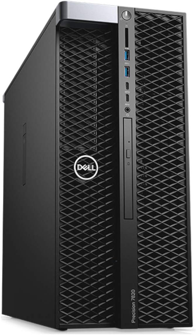 Dell Precision 7820 Tower Workstation, Intel Xeon Silver 4114 up to 3.0GHz (10-Core), 32GB RAM, 1TB M.2 NVMe PCIe SSD, Quadro M2000 4GB (Supports 4K), 4x Display Ports, Windows 10 Pro 64-bit (Renewed)
