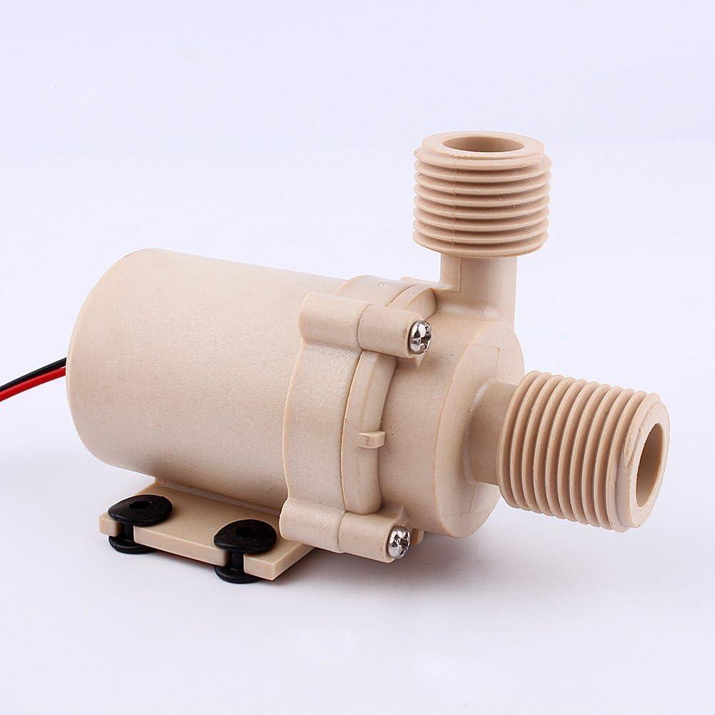 ZJchao Solar de DC 12 V bomba de circulación de agua caliente Brushless Motor Bomba de agua 3 m 5 m Low Noise