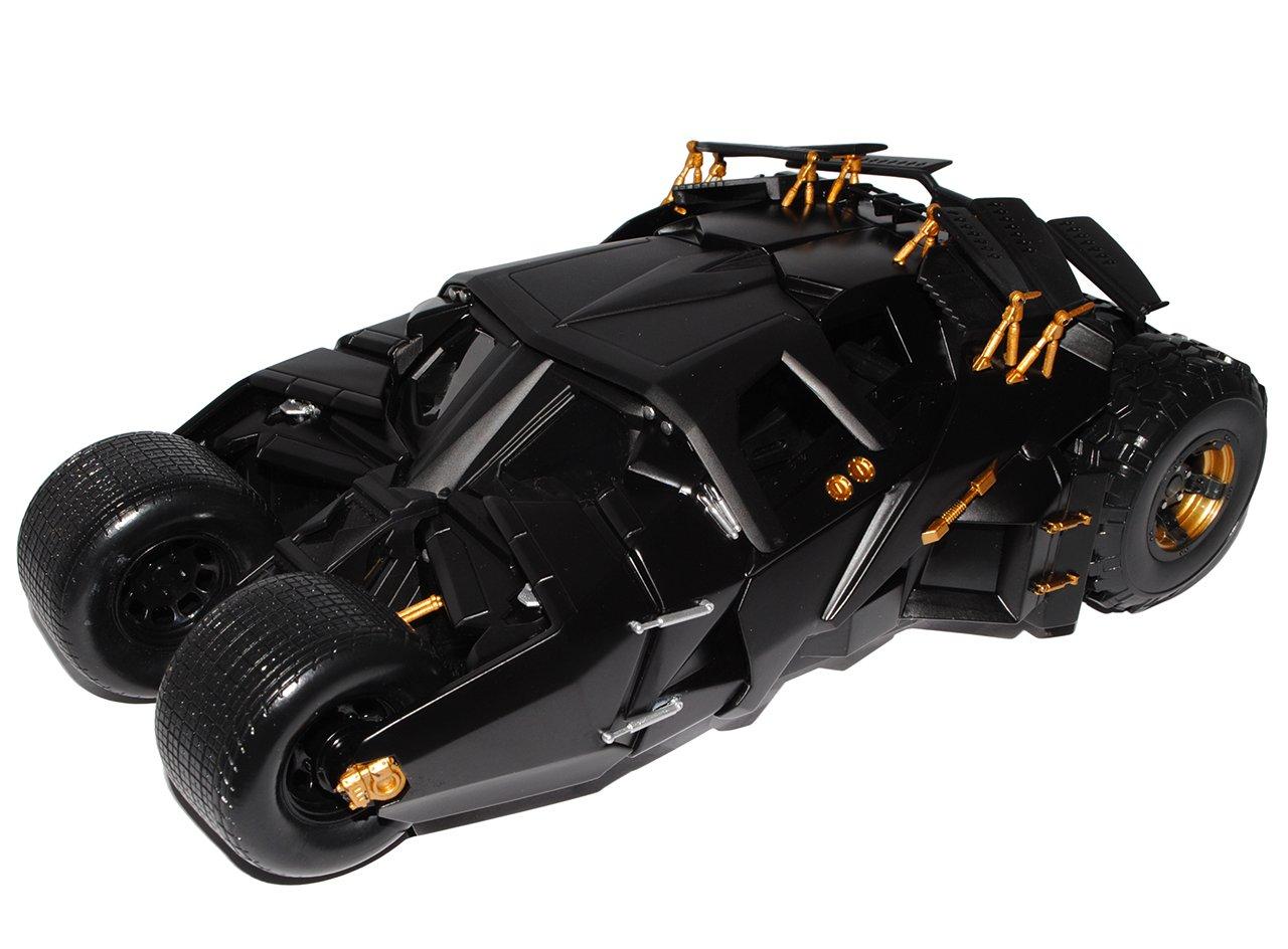 Batman Begins Batmobile Begins Tumbler The Dark Knight Trilogy Schwarz 1/18 Mattel Hot Wheels Modell Auto mit individiuellem Wunschkennzeichen