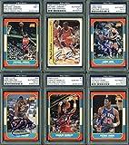 1986 Fleer Basketball Signed Complete Set - 143 Autographed Cards! PSA/DNA