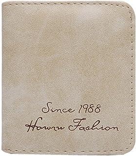 Ladies Fashion Mini Slim Wallet Multicard Portefeuilles Avec les boutons, F Blancho Bedding