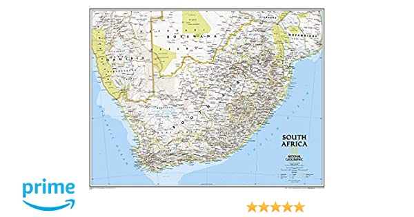 National geographic south africa classic wall map 3025 x 235 national geographic south africa classic wall map 3025 x 235 inches national geographic reference map national geographic maps reference gumiabroncs Gallery