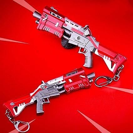 Amazon.com: Llavero de metal rojo táctico para pistolas de ...