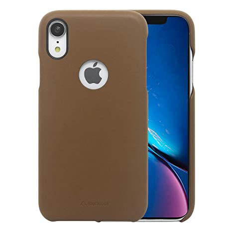 size 40 6d555 1f107 Stuffcool JOLIIP61 Mobile Case Cover for Apple iPhone XR (Tan Brown)