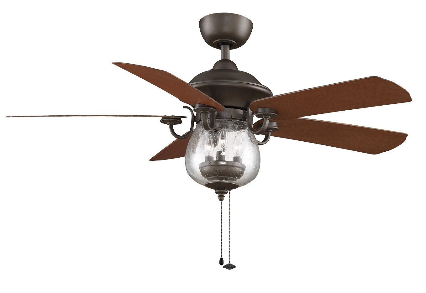 Fanimation Crestford - 52 inch - Oil-Rubbed Bronze with Light Kit ...