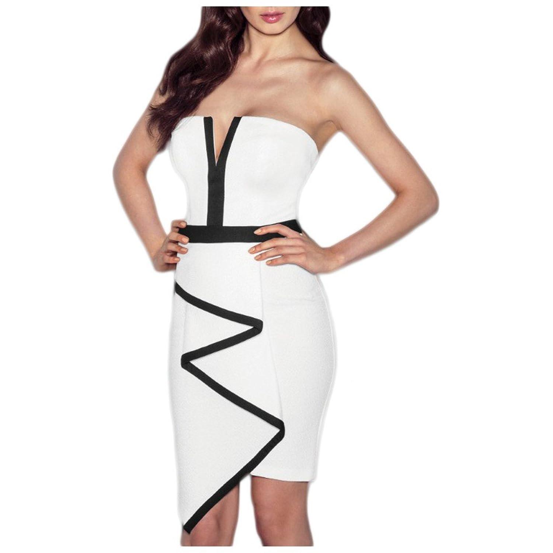 Waooh - Kurzes Kleid Grafikmuster Einn