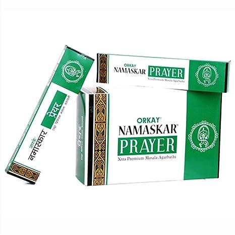 ASM PERFUMERY NAMASKAR Prayer INCENSCE 180 Sticks: Amazon in: Home