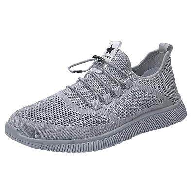 AMUSTER Sneaker Scarpe Uomo Estive Senza Lacci Jogging
