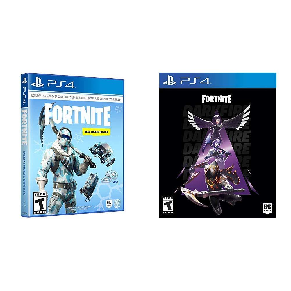 Warner Bros Fortnite Deep Freeze Bundle - PlayStation 4 with Darkfire Bundle - PlayStation 4
