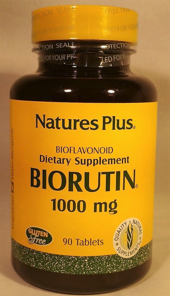 Nature s Plus Biorutin 1000 mg 90 Tablets