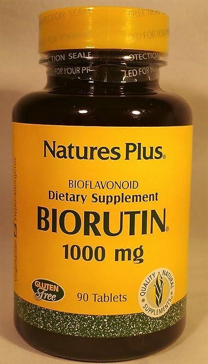 Biorutin, 1000 mg, 90 comprimidos - Plus de la naturaleza