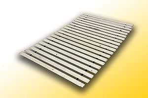 Best For You Roll somier de láminas (10,15 o 20 láminas de madera para todos los colchones – en muchos tamaños 60 x 120 cm – 160 x 200 cm
