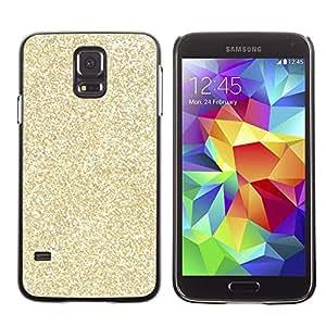 A-type Arte & diseño plástico duro Fundas Cover Cubre Hard Case Cover para Samsung Galaxy S5 (Glitter Bling Money Rich Sparkly)