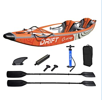 Zray- Drift Kayak 6920388638845 Naranja, Talla única: Amazon ...