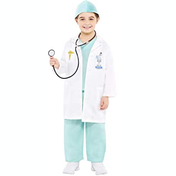 2443c1724d Amscan International Christys Dress Up 999659/999660 Kids Doctor Costume - 3-4  Years: Amscan: Amazon.co.uk: Toys & Games