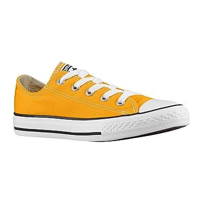 CONVERSE Kids Chuck Taylor Low Top Sneaker Pre/Grade School (1, Wild Honey)