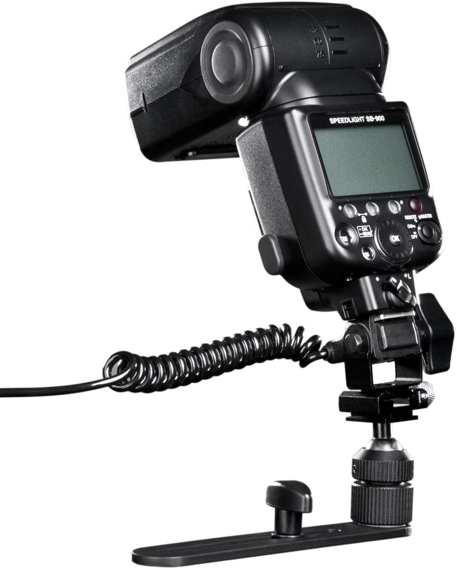 Walimex Macro Camera Flash Bracket Pro with Flash Cord for Olympus