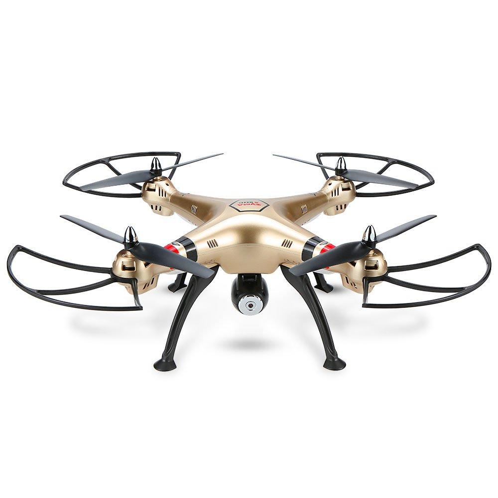 Original Syma X8HC Drohne mit 2.0MP HD Kamera RC Quadrocopter mit Höhe halten und kopflosen Modus