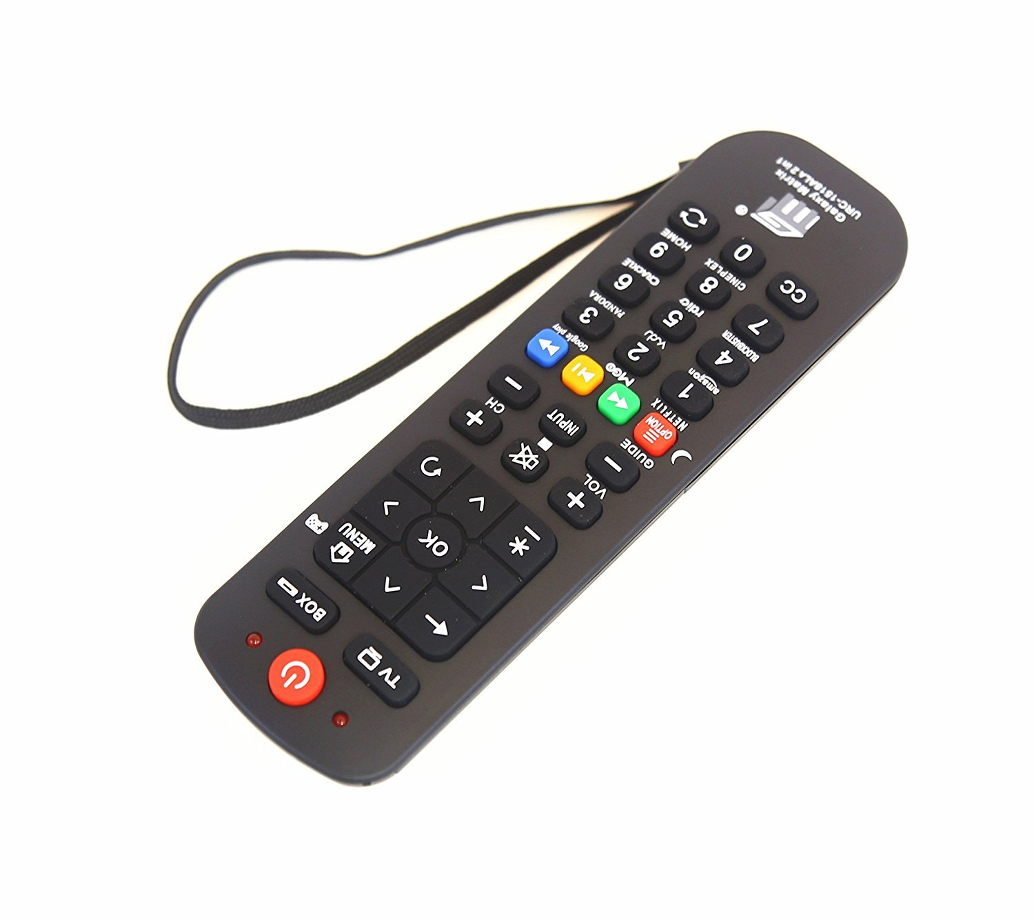 Brainly Universal Streaming Remote Work (2 in 1) for Main TV Main Streaming Box, Roku 1 2 3, Apple Tv, Vizio Smart TV,(URC1518) by Brainly (Image #2)