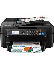 Epson WorkForce WF-2750DWF Print/Scan/Copy/Fax Wi-Fi Printer, Black
