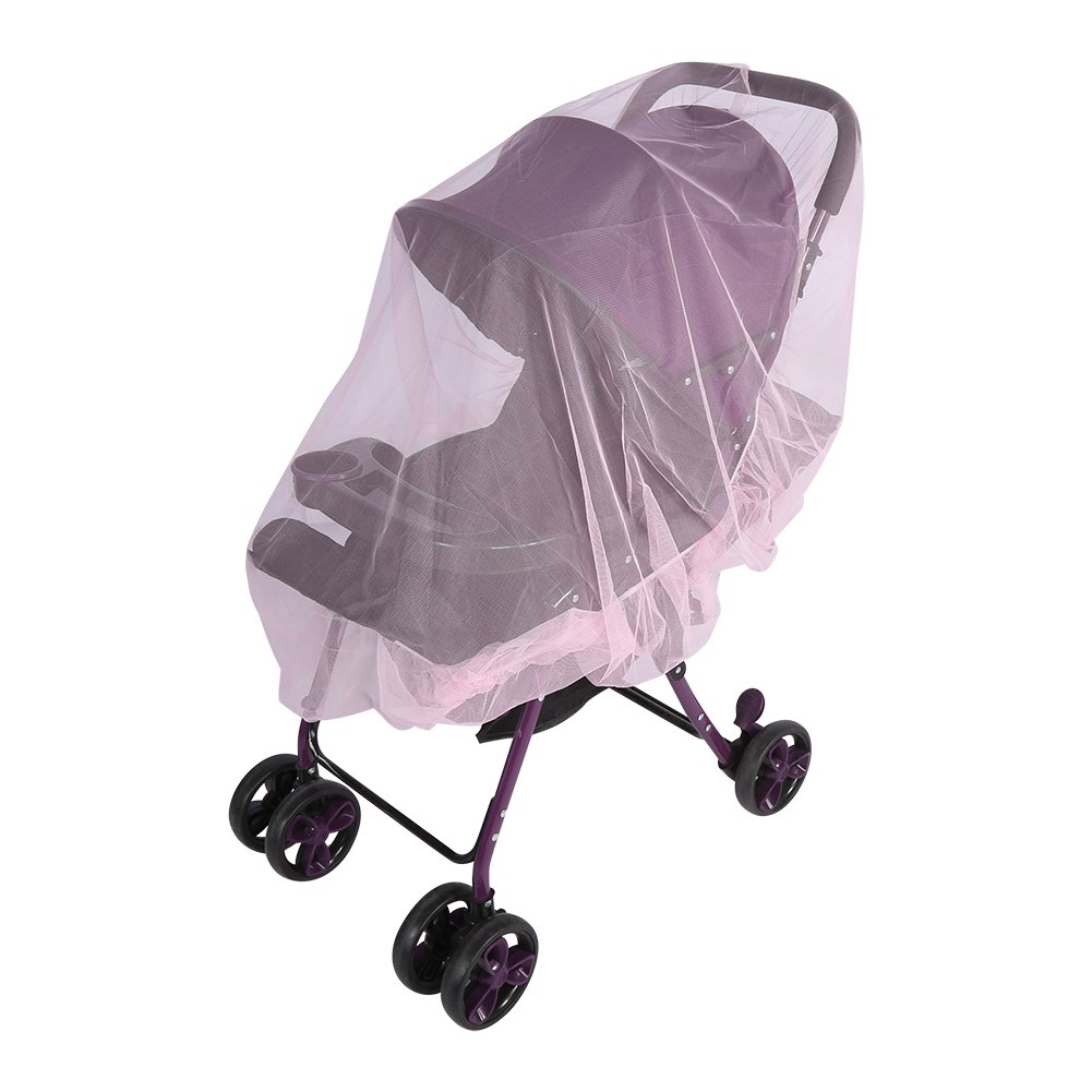 Mosquito Net for Stroller Baby Carrier Cradle Soft Insect Shield Netting Babies Fly Screen Protection Easy Installation Carry Bag #2