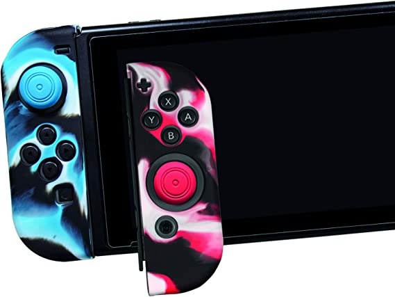 Ardistel - Silicone Sleeve Gamer Kit para 2 x Joy-Con (Nintendo Switch): Amazon.es: Videojuegos
