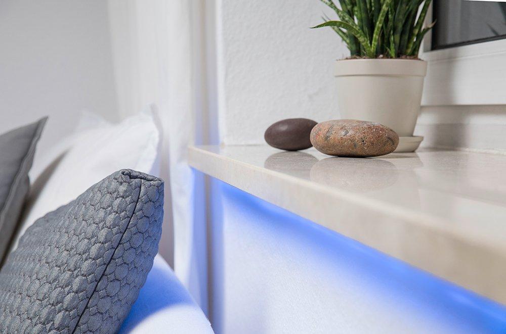 L/änge 3 x 60 cm Osram Smart+ ZigBee RGB LED Strip Alexa kompatibel tageslicht 4er Pack 2000 K - 6500 K warmwei/ß dimmbar