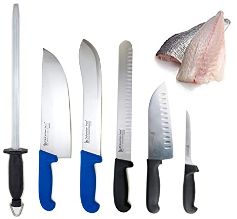 Compra DELUXE juego de cuchillo para filetear central ...