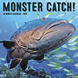 Monster Catch 2019 Wall Calendar