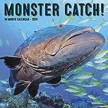 Monster Catch 2019 Wall Calendar